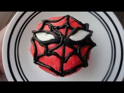 Decorating Cupcakes #50: Spiderman