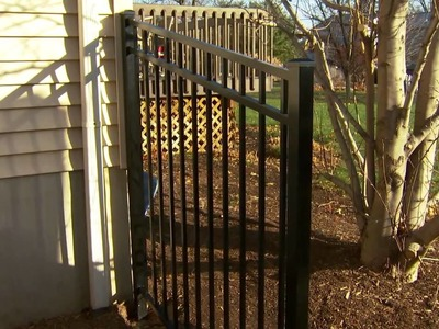 Decorative Metal Fence Installation Tips: Installing Posts and Panels