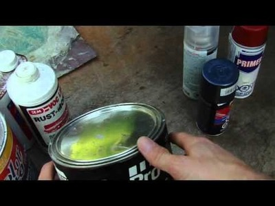 DiY Large Rust Hole Repair on your Auto Part 2 (Materials)