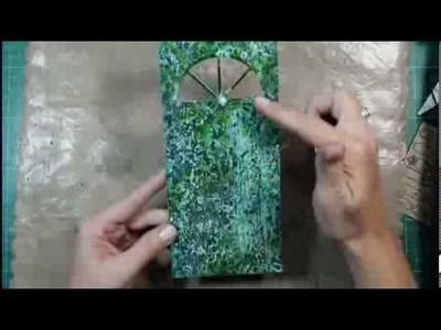 Dusty Attic Door Tutorial using Smooch Spritz & Rock Salt 1