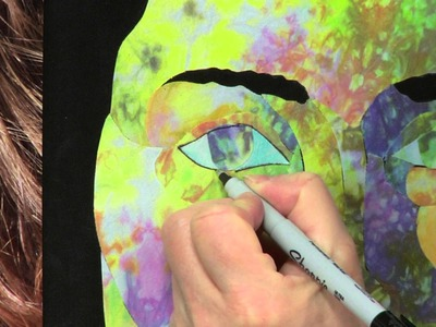 Dynamic Fabric Art Portraits with Esterita Austin Workshop Preview