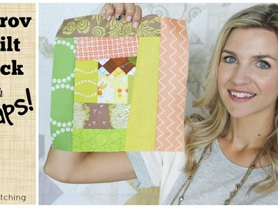 Easy Improv Quilt Block Tutorial