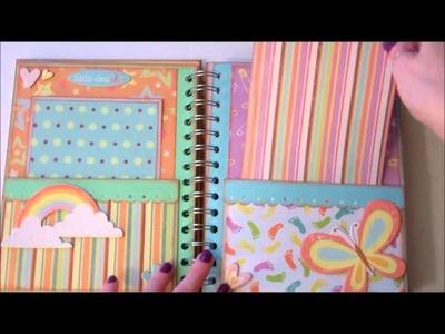 Faith Abigail Designs - Baby Steps Pocket Page Mini Album