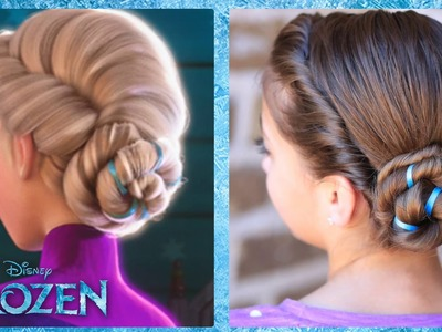 Frozen Inspired Elsa's Coronation Updo | A CuteGirlsHairstyles Disney Exclusive