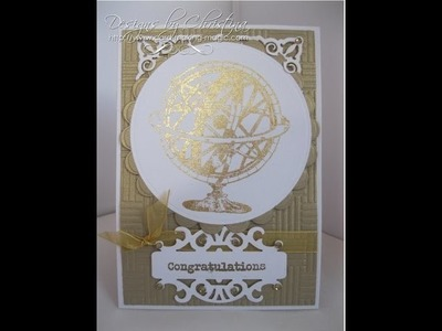 Gilding Flakes and Stamps  (card-making-magic.com)