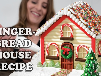 GINGERBREAD HOUSE RECIPE How To Cook That for Christmas