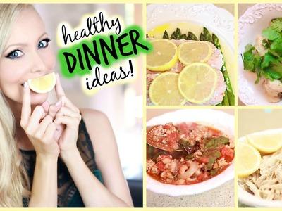 Healthy Dinner Ideas!