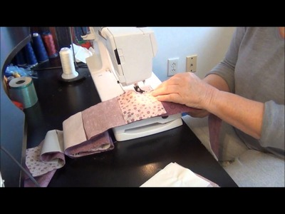 HOW TO-CONTINUOUS MULTIPLE FABRIC PRAIRIE POINTS