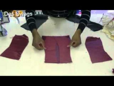 How to make a corsets with three sections part 2