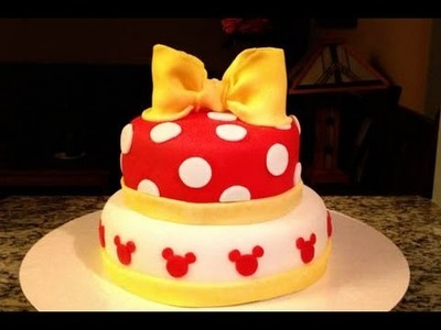 How to make a Minnie Mouse Cake