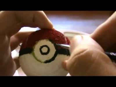 How to make a pokeball