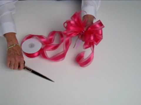 How to Make a Ribbon Bow by Nashville Wraps