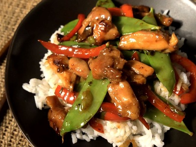 How to Make an Easy Chicken Stir-Fry - The Easiest Way