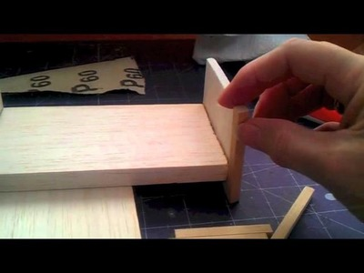 How to make Bed for your 1.12 scale Dolls house