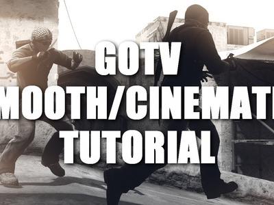 How to make CS:GO Cinematics.Smooths in GOTV Demos