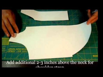 How To Make Easy Free Dog Clothes Cutting Pattern for Homemade Clothing