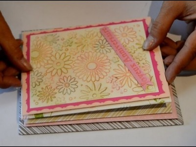 How to make envelopes for any size cards fast and easily (without an envelope maker);