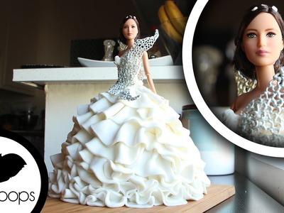 How to Make Katniss Everdeen's Wedding Dress | Become a Baking Rockstar