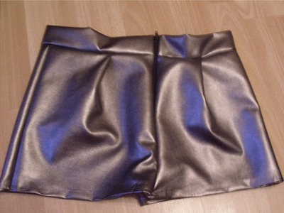 How to make leather shorts