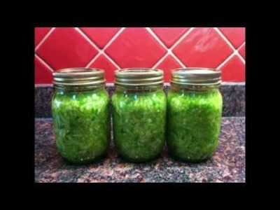 How to make sauerkraut the easy way!