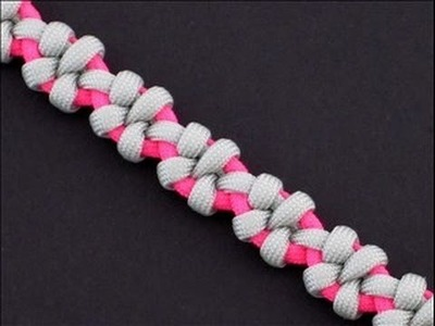 How to Make the Starthistle Braid (Paracord) Bracelet by TIAT