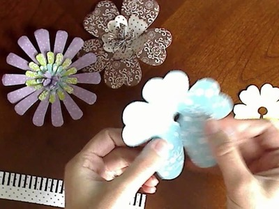 Imaginisce Petal Roller, Pop-up Posies & Roly Rosies Tutorial