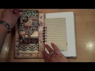 Junque Journal. Mini Album