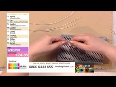 Learn How to Make Handmade Wirework Jewellery [Tutorial] - Jewellery Maker DI 17.03.14