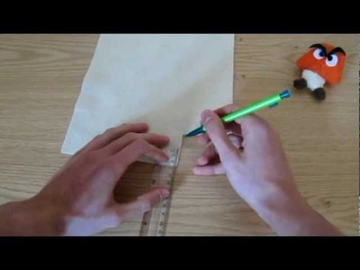 Make your own Goomba Plush