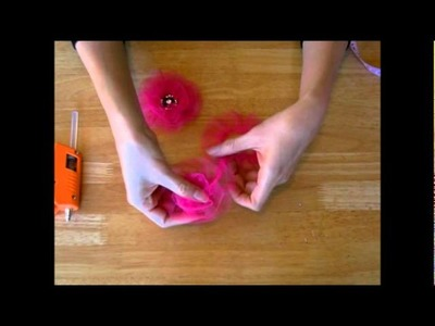 Maya Road Tulle Flower Tutorial