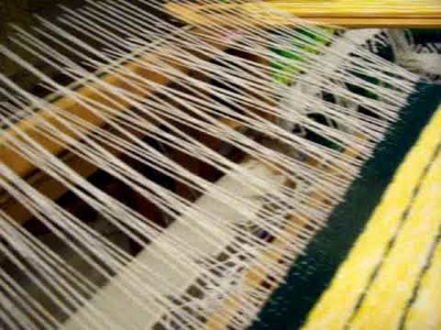Nancy Today: Weaving diamond twill pt 2 (weaving 76) ASMR weaving