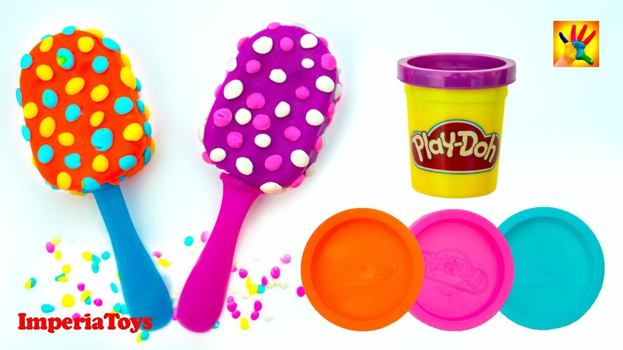 Play Doh Ice Cream Playdough Popsicles Ice Cream