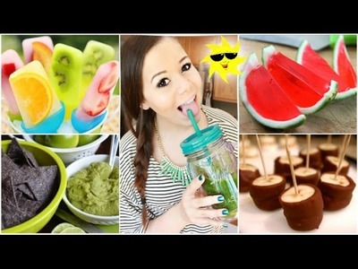 Quick&Healthy Summer Treats+Drinks! | Krazyrayray
