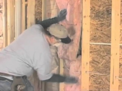 Residential Wall Batts Insulation Installation - Part Two