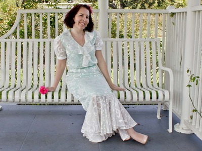 Rose Garden Dress - Butterick Pattern 5879