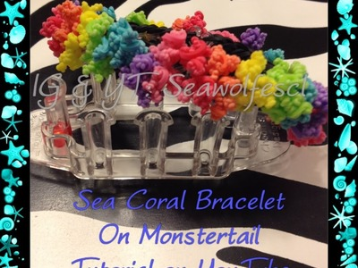 Sea Coral Bracelet on Monstertail