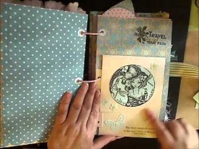 Smash Book? Junk Journal? How about a Theme Journal, pt 2