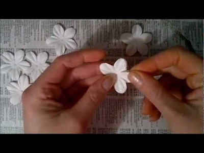 Steampunk flower tutorial using Iamroses 5 petal flowers P20
