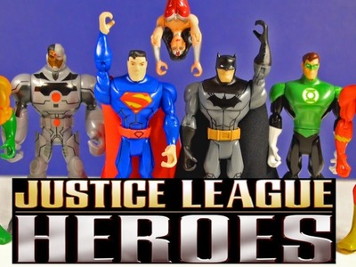 Superhero Toys Justice League All Stars Batman Superman Green Lantern The Flash Cyborg