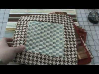 The Joyal of Quilting- How to Make a Recycled Quilt Square- Learn to Quilt the Joyal Way!!