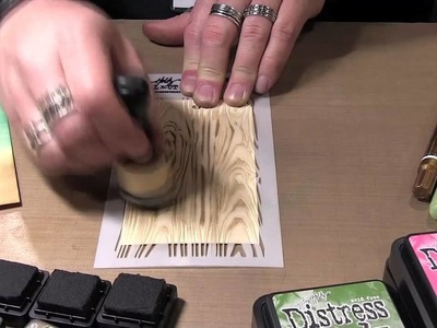 Tim Holtz at Ranger - Mini Blending Tool with Distress Inks and Paints
