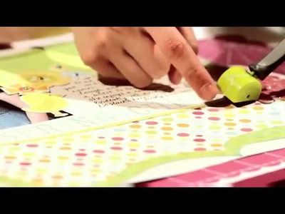 We R Memory Keepers Sew Easy Stitch Piercing Tool Tutorial - YouTube.rv