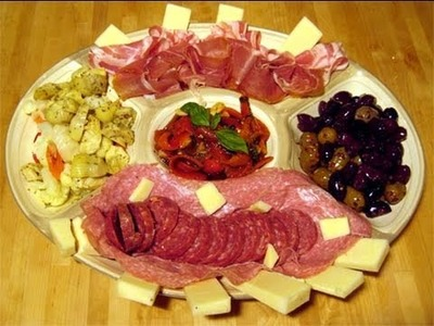 "Antipasto Platter How To.Recipe Video - Laura Vitale ""Laura In The Kitchen"" Episode 6"