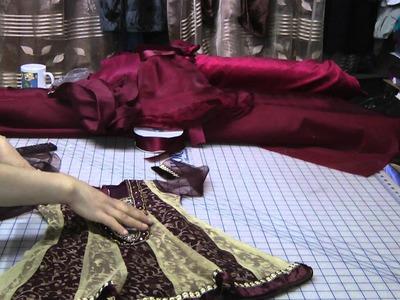 Baby cindrella dress
