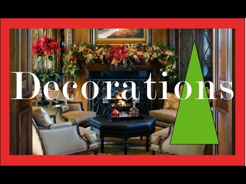 Christmas Decorations and Decorating Ideas