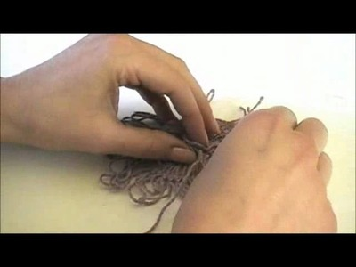Circular Hairpin Lace - Working Hairpin Lace in the Round