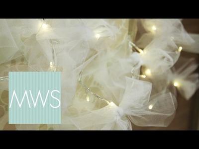 Customised Wedding Fairy Lights | Maid At Home S3E2.8