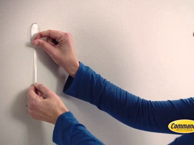 Decorate with Command™ Clear damage-free hanging hooks