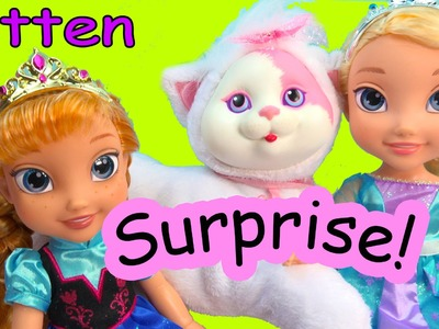 Disney Frozen Queen Elsa & Princess Anna Toddler Kitty Surprise Baby Kitten Mystery Toy Cookieswirlc