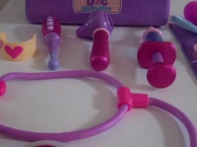 Disney Junior Doc McStuffins Doctor's Bag Pretend to be Doc McStuffins fix Lambie + Stuffy Toy